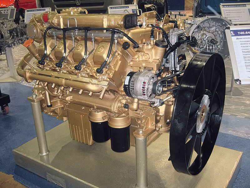 Модернизация двигателей КАМАЗ